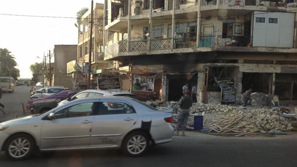 ABC martha raddatz bombing aftermath baghdad jt 140621 16x9 608 A Day in the Life of a Journalist in Baghdad