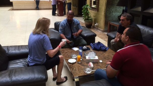 ABC martha raddatz meets producers baghdad jt 140621 16x9 608 A Day in the Life of a Journalist in Baghdad