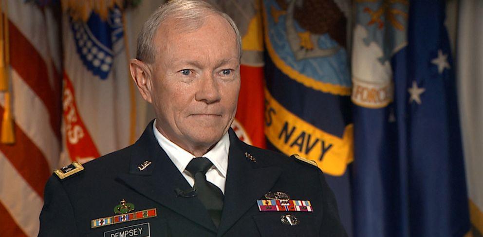PHOTO: Gen. Martin Dempsey Speaks on This Week