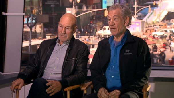 ABC mckellen stewart jtm 131217 16x9 608 Two Sirs Reunite on Broadway in Waiting for Godot and No Mans Land