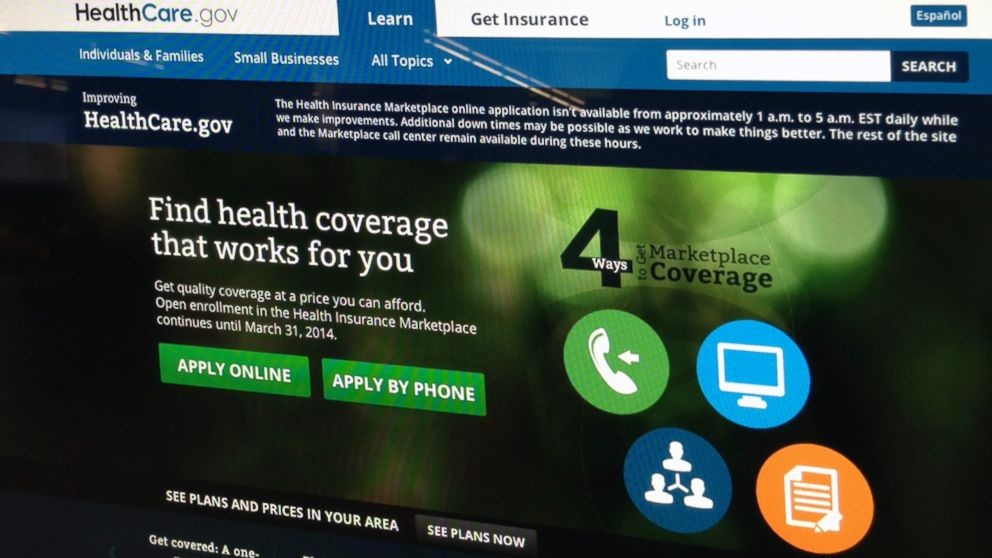 PHOTO: The healthcare.gov website is shown, Nov. 13, 2013.