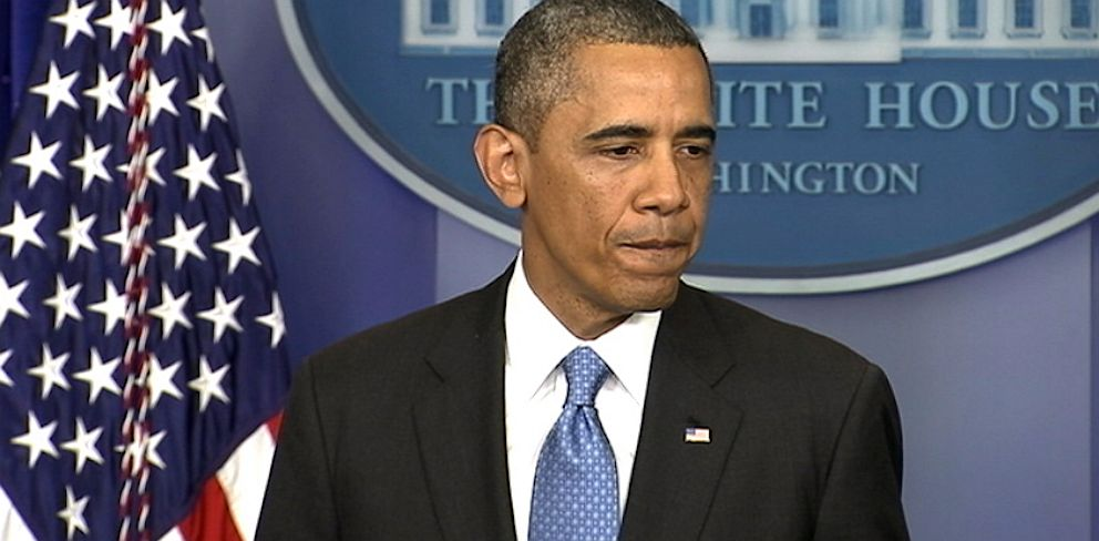 PHOTO: President Barack Obama delivers remarks in the White House briefing room, July 19, 2013.