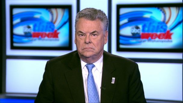 ABC peter king jt 140126 16x9 608 Rep. Peter King: I Cant 100 Percent Guarantee U.S. Athletes Safety in Sochi
