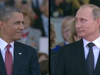 Obama and Putin Face-to-Face Draws Cheers and Chuckles