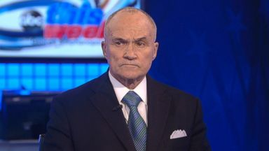 PHOTO: Former New York City Police Commissioner Ray Kelly on This Week