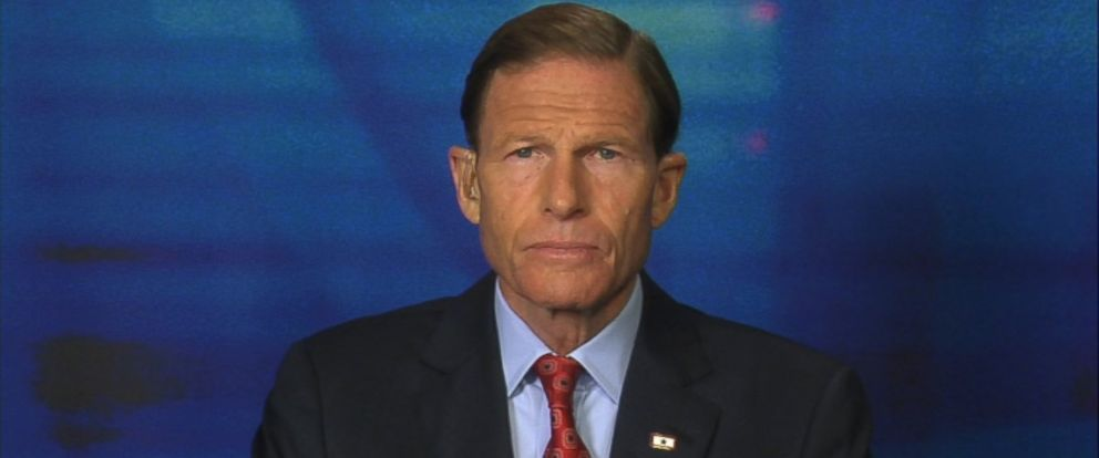 PHOTO: Sen Richard Blumenthal (D) Connecticut on This Week
