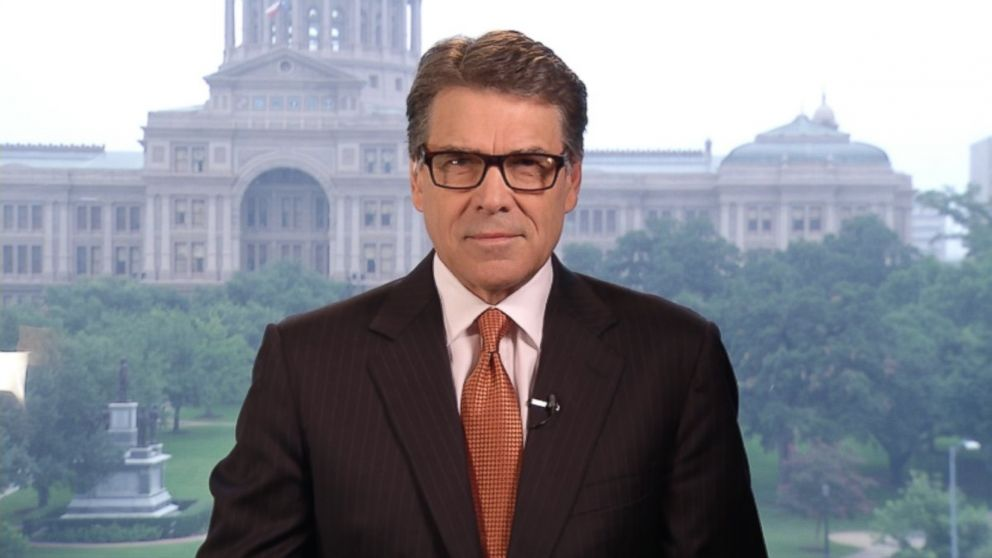 PHOTO: Gov. Rick Perry (R) Texas on This Week