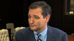 PHOTO: Senator Ted Cruz (R) Texas on This Week
