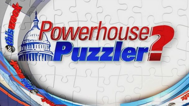 PHOTO: This Week Powerhouse Puzzler