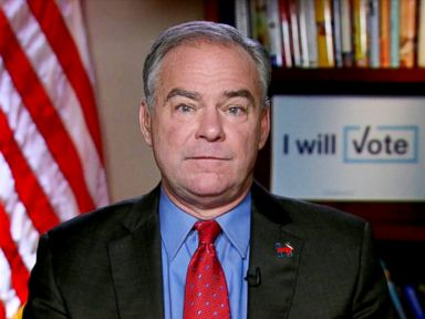 Tim Kaine Says Donald Trump 'Told Some Whoppers' in Debate