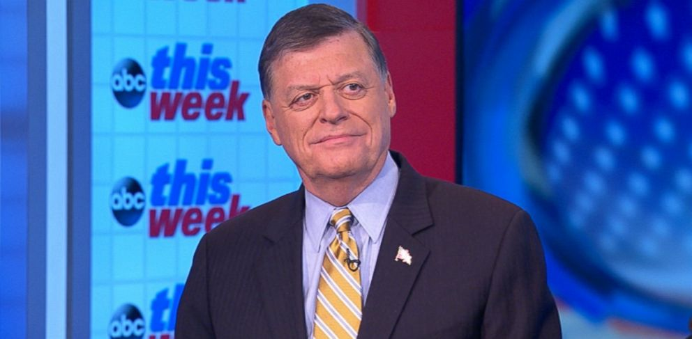 PHOTO: Rep. Tom Cole (R) Oklahoma on This Week