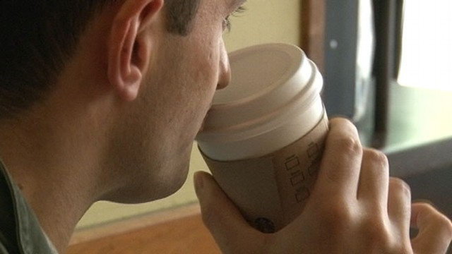 "VIDEO: Washington, D.C., employees will write ""Come Together"" on every cup of coffee sold."