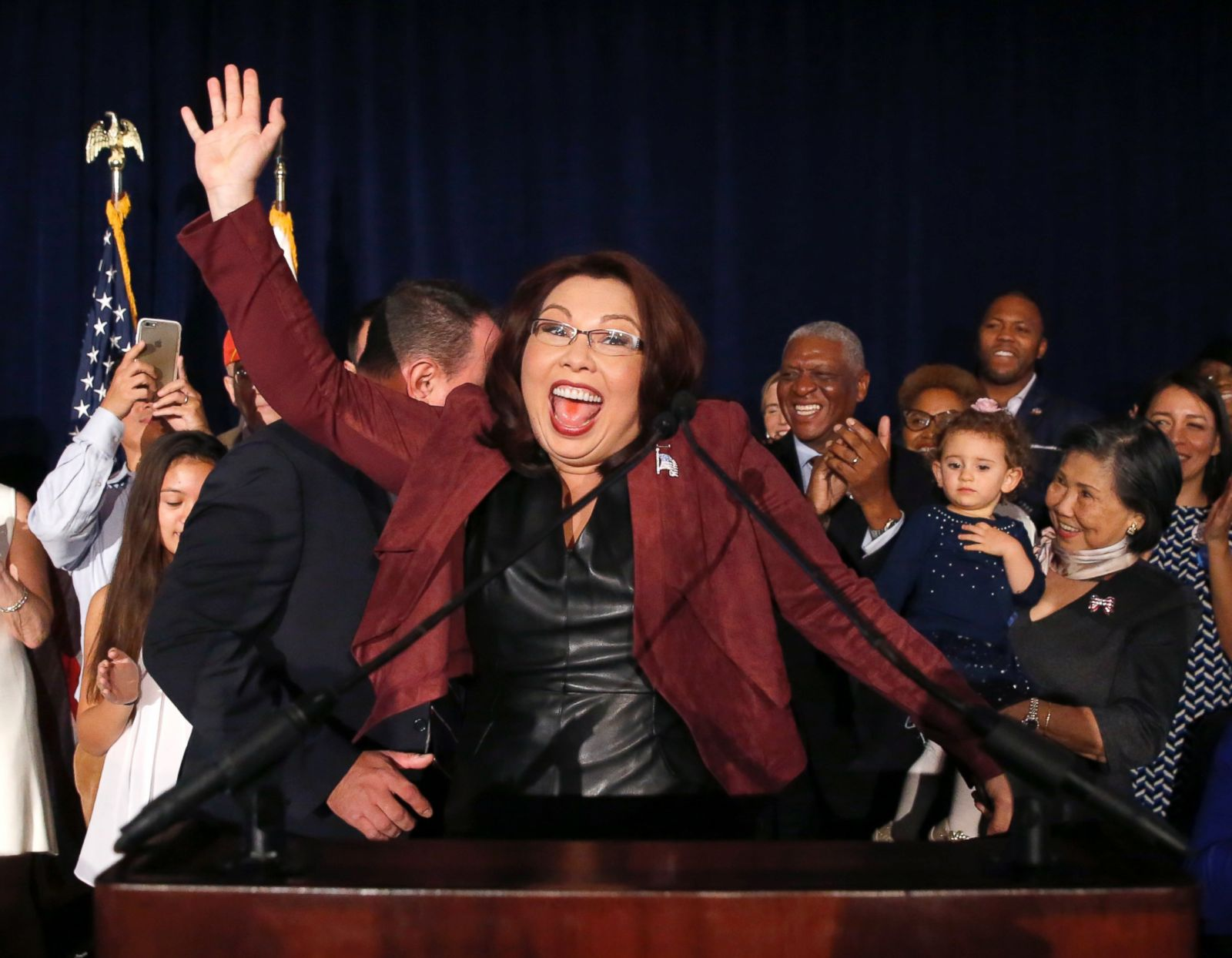 Best Photos from Election Night 2016 Photos - ABC News