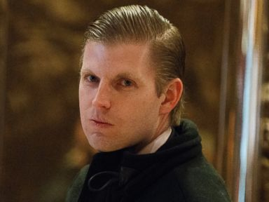 Eric Trump: 'My father sees one color, green'