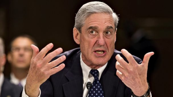 PHOTO: Former FBI Director Robert Mueller shown testifying on Capitol Hill on June 19,2013.The Justice Department is appointing Mueller as special counsel to oversee investigation into Russian interference in the 2016 presidential election.