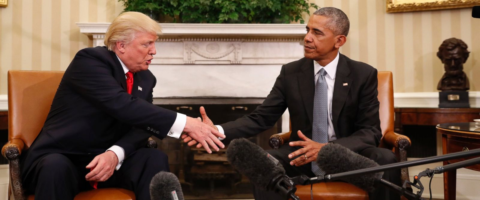 Donald Trump Calls Meeting Barack Obama Great Honor Abc News