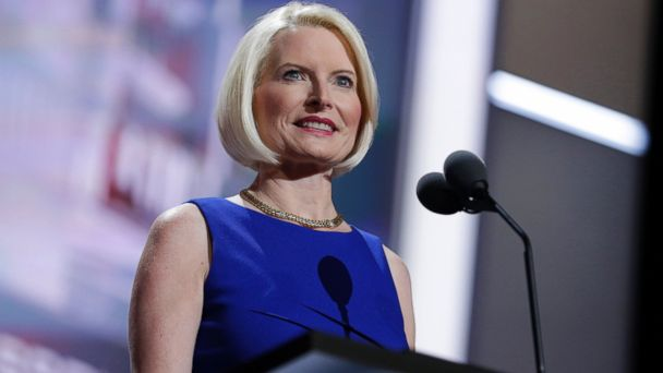 PHOTO: Callista Gingrich is seen during the Republican National Convention in Cleveland, July 16, 2016.