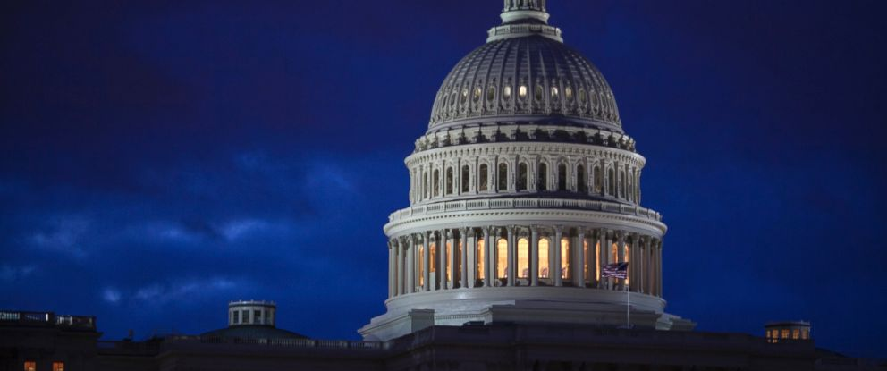 PHOTO: The Capitol is seen at dawn in Washington, April 4, 2017.