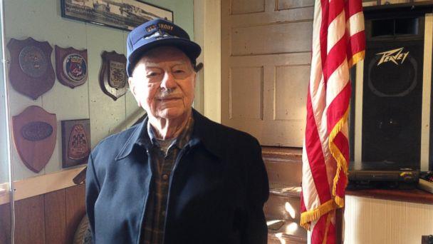 PHOTO: This photo taken taken Feb. 16, 2017, shows Deen Brown, 94, of Oakdale, Conn.