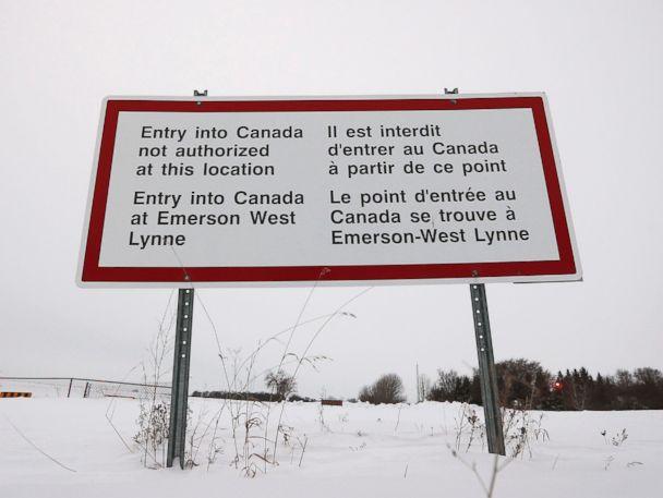 Canadian police intercept 22 people on U.S.-Manitoba border overnight