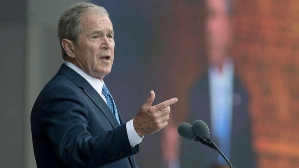 George W. Bush on Trump-Russia connections: 'We all need answers'