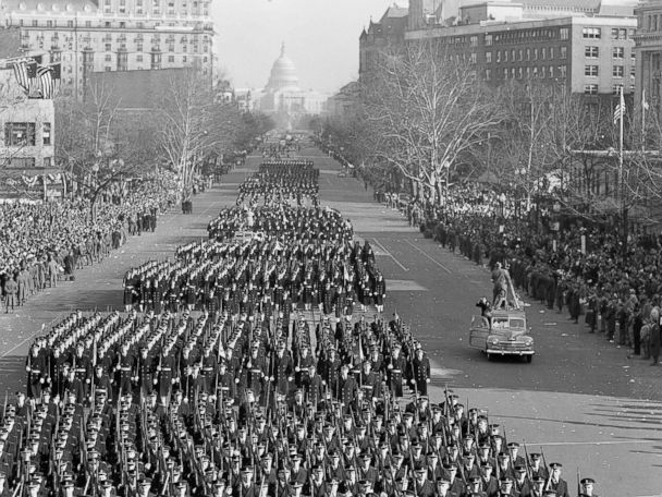 PHOTOS:  A Look Back at US Presidential Inaugurations