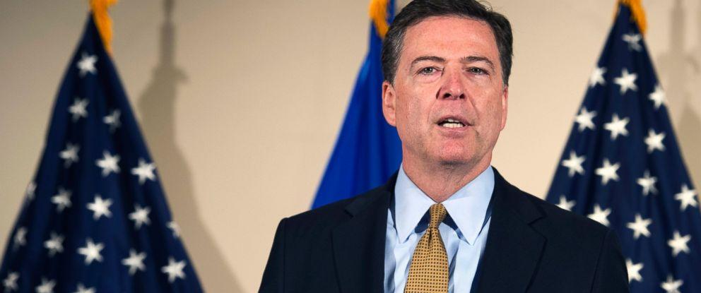 PHOTO: FBI Director James Comey makes a statement at FBI Headquarters in Washington, July 5, 2016.