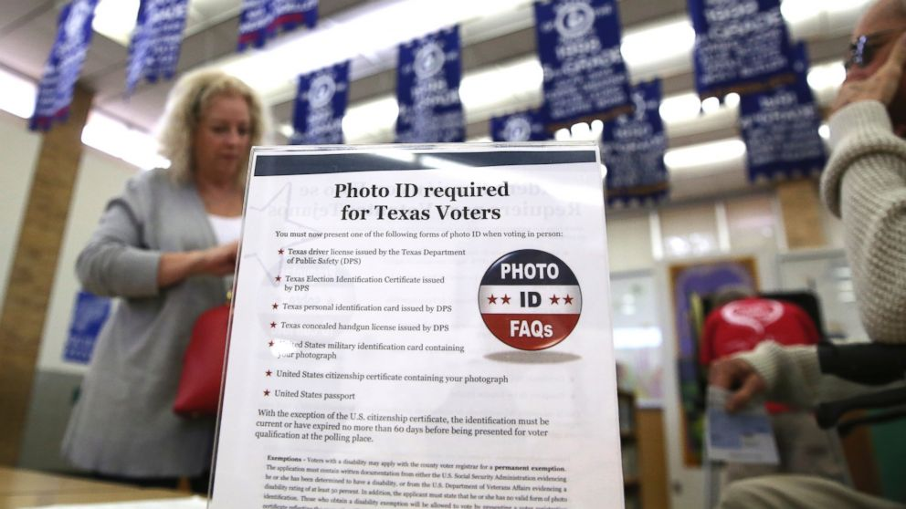 DOJ withdraws from part of voter ID lawsuit in Texas