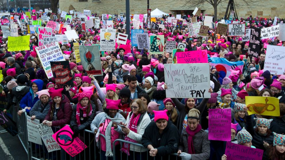 abcnews.go.com - Women's March Heads to Washington Day After Trump's Inauguration