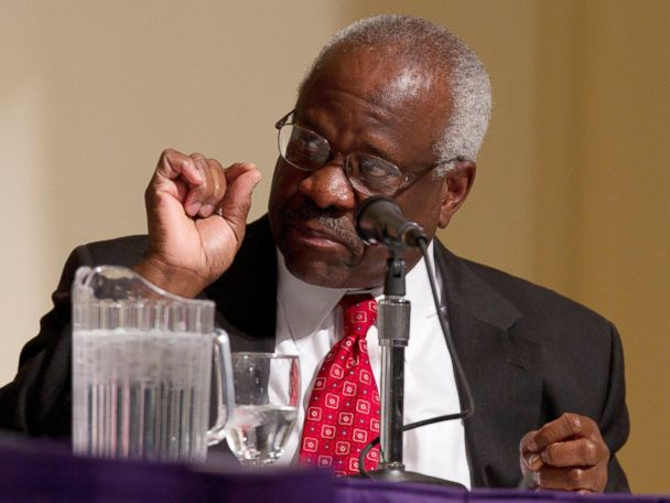 Clarence Thomas Says Washington DC is 'Broken'