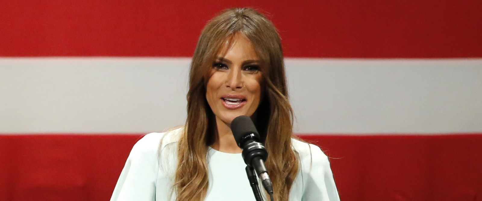 Melania Trump, wife of Republican presidential candidate, Donald Trump ...