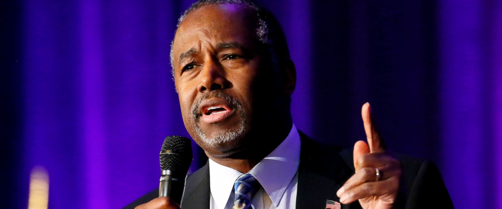 PHOTO: Republican Presidential candidate Dr. Ben Carson speaks on Dec. 4, 2015 in Phoenix at the States and Nation Policy Summit of the American Legislative Exchange Council and the American City County Exchange.