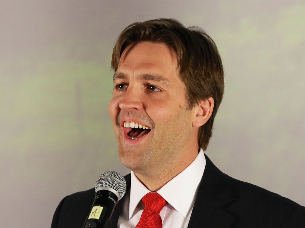 PHOTO: Ben Sasse speaks in Lincoln, Neb., May 13, 2014, after winning his partys primary election.
