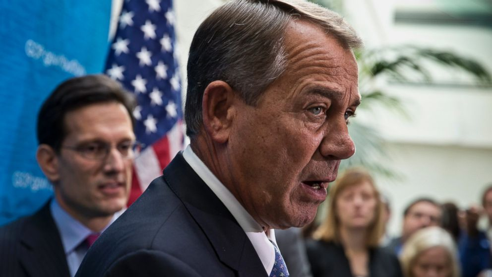 PHOTO: House Speaker John Boehner