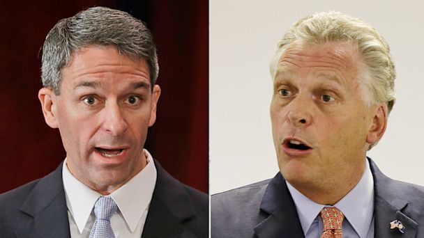 AP Cuccinelli McAuliffe ml 130916 16x9 608 Climate, Coal Fire Up Virginia Race for Governor