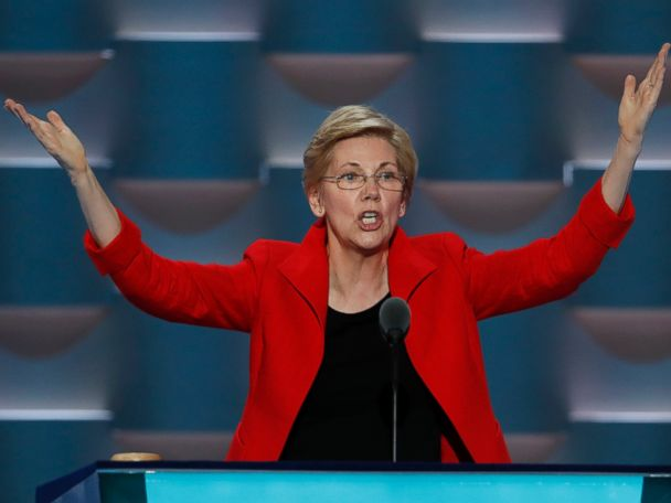 Elizabeth Warren Slams Trump for Exploiting 'Rigged' System