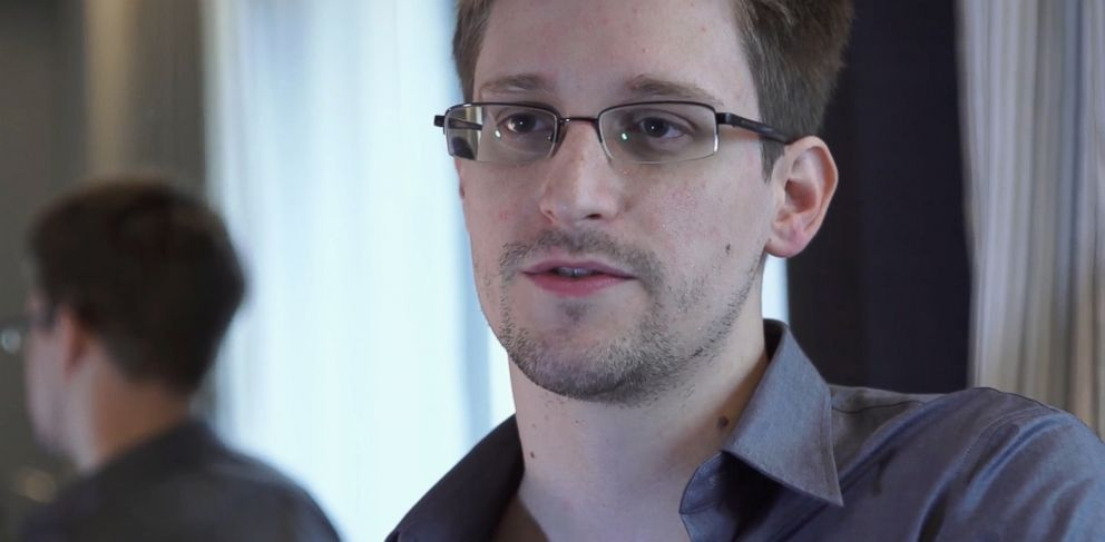 PHOTO: FILE - This June 9, 2013 file photo provided by The Guardian Newspaper in London shows National Security Agency leaker Edward Snowden, in Hong Kong.