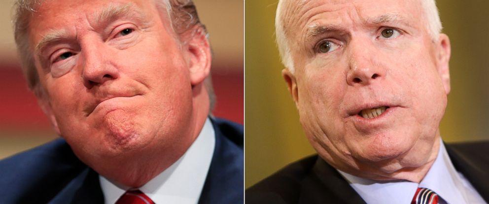 PHOTO: Donald Trump | John McCain
