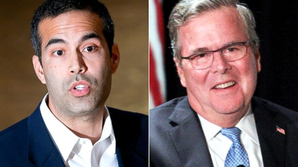 AP GTY george p bush jeb split sk 140305 16x9 608 A Tale of Two Bushes: One Runs on His Name, the Other ... Not So Much