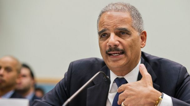 AP General Eric Holder ml 140408 16x9 608 Eric Holder Wishes Critic Good Luck With Your Asparagus After Testy Exchange