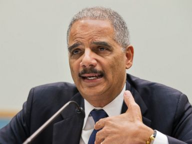 Eric Holder Wishes Critic 'Good Luck With Your Asparagus' After Testy Exchange