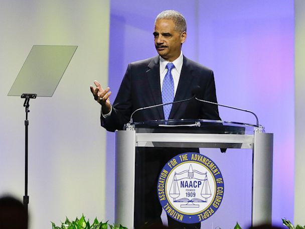 AP Holder NAACP Dolak 130716 4x3 608 Attorney General Eric Holder Addresses Trayvon Martin Shooting, Criticizes Stand Your Ground Laws