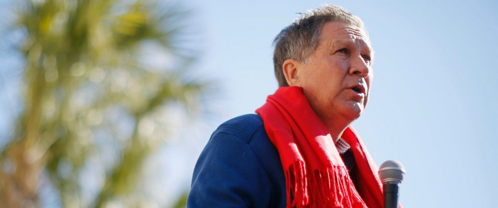 PHOTO: Republican presidential candidate, Ohio Gov. John Kasich speaks during a campaign stop, Feb. 11, 2016, in Pawleys Island, S.C.