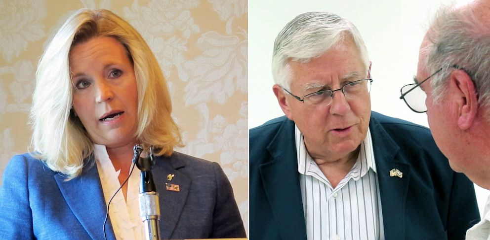 PHOTO: Liz Cheney and Mike Enzi