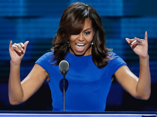 'That's My Man!': First Lady Tweets Praise of Obama's DNC Speech