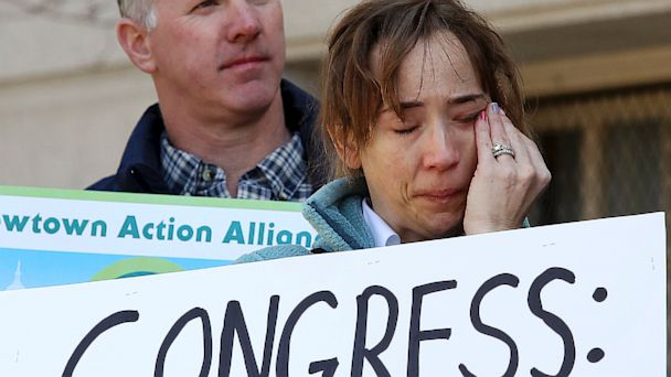 AP Newtown Action Alliance nt 130917 16x9 608 Gun Control Advocates Face Frustrating Resistance on Capitol Hill