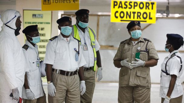 AP Nigera Health Officials Airport emd 20140804 16x9 608 What the U.S. Is Doing to Ensure Africa Summit Is Safe From Ebola