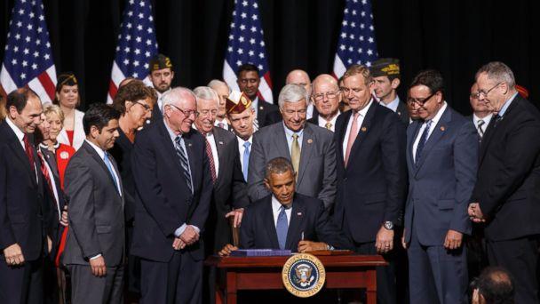 AP ObamaVeteransHealth SW 2010 16x9 608 Obama Signs VA Reform Bill