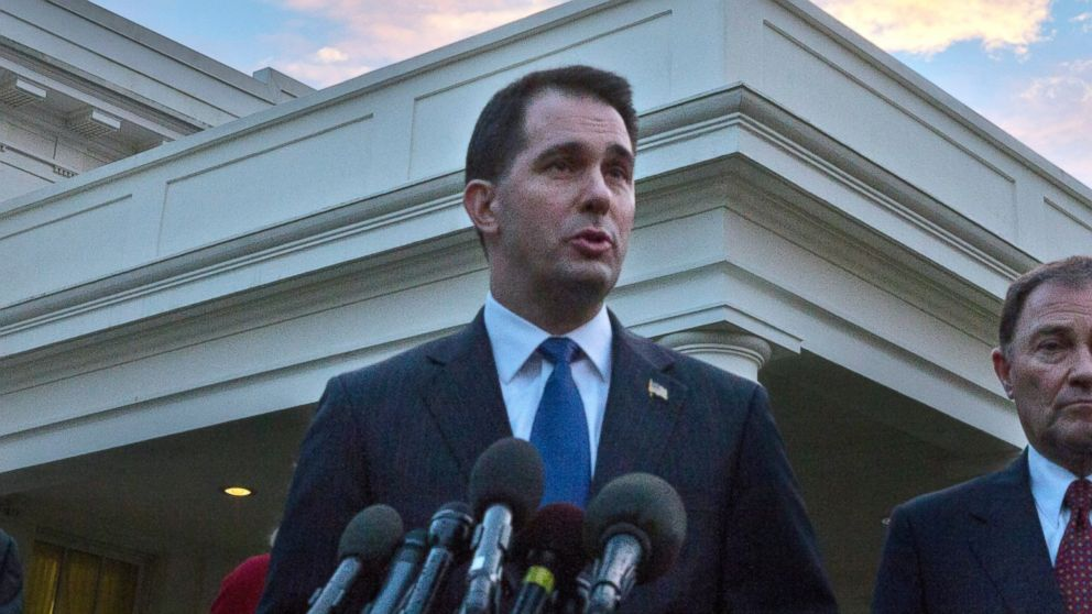 PHOTO: Wisconsin Governor Scott Walker is running for re-election in 2014.