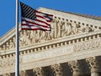 PHOTO: This June 27, 2012, file photo shows an American flag in front of the U.S. Supreme Court in Washington.